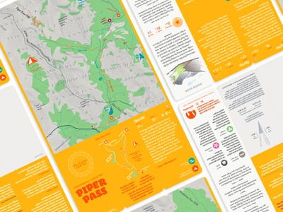 Wildland Series getoutside hiking traillife trail canadian rockies custom curated maps map maker typography identity hike maps myth thewayfindercompany active guide system wcoags product design brand creative direction design illustration