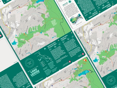 National Park Series custom curated maps the wayfinder company active guide system typogaphy print typography myth maps hike thewayfindercompany identity creative direction design illustration