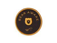 Bear Aware Wco patch