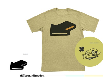 that direction - shirt design
