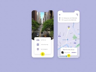 Passenger & Driver Mobile App ux design uiux driver app app ui design mobile app