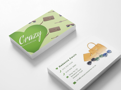 Crazy Accessories Business Cards