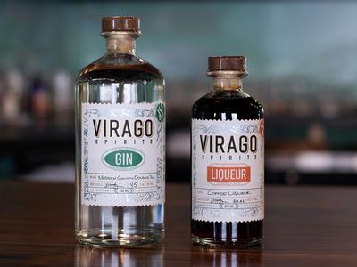 Virago Spirits - Experimental Label