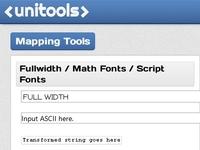 Unicode Tools