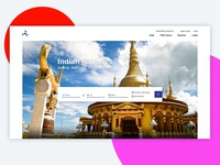 Indian Railways Website Landing Page