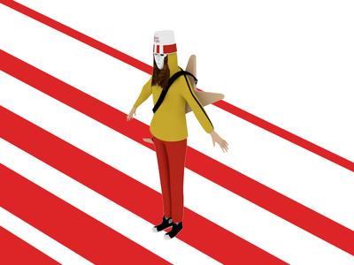 Buckethead 3D Model [Fun Project*]