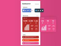 Monitoring Dashboard - Daily UI Challenge #021