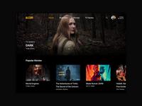 TV App - Daily UI Challenge #025