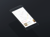 Maps - Daily UI Challenge #029 [Mobile Preview]