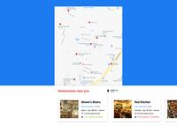 Maps - Daily UI Challenge #029