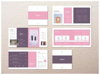 Square Proposal template proposal portfolio magazine indesign design catalog brochure