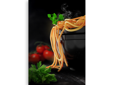3d Noodles photoshop design modeling graphics design 3d blender