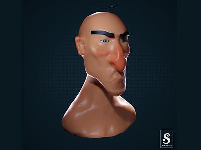 Concept Character Modeling graphics design characterdesign modeling blender 3d