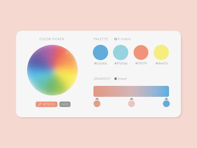 Daily UI #060 - Color Picker