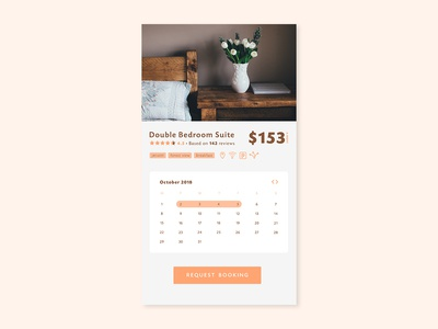 Daily UI #067 - Hotel Booking