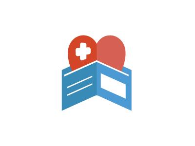 Health Donation Logo Concept