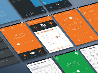 Atlas App Mockup