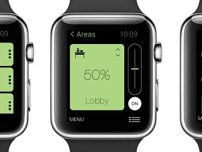 Cloud Lighting Apple Watch Concept lighting iot watchos apple watch ux ui
