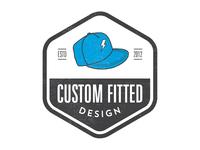 Custom Fitted Design Logo