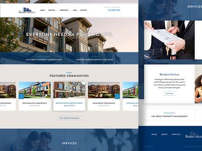 The Property Society Website