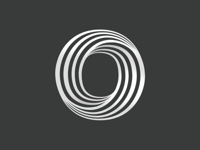 OpticalTel Logo Emblem letter o icon emblem custom type typography type logo