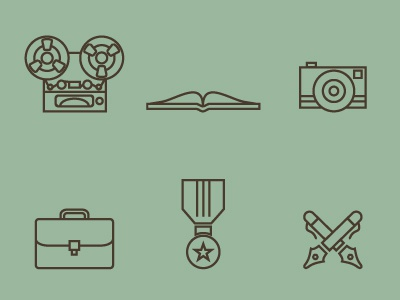 826CHI Icons icons spies writing