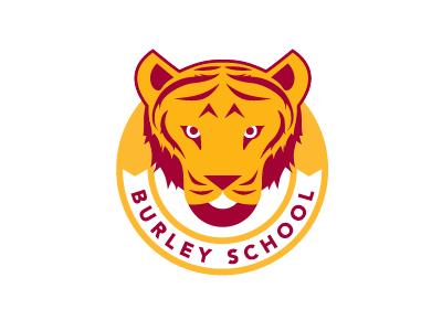 Burley School of Chicago mascot logo identity chicago school sports tiger