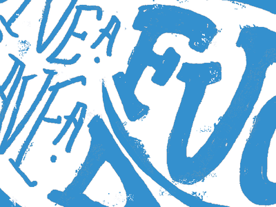 Give a Fu.... typography