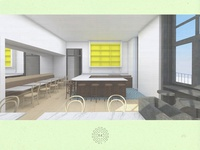 Work #042: Ridgewood Coworking Space Cafe