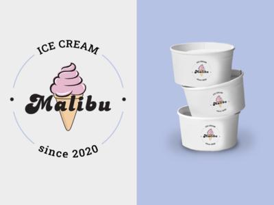 Ice Cream Logo design icon ui logo illustration design logo icon illustrator