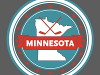 MN Hockey T shirt logo