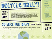 Earth Month Flyer