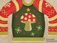 I'll be Gnome for Christmas Sweater