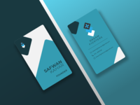 Company Business Card Mockup