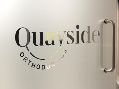 Frosted Glass - Quayside Orthodontics