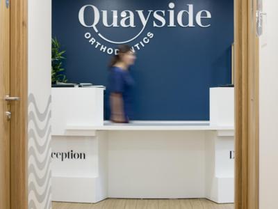 Reception - Quayside Orthodontics