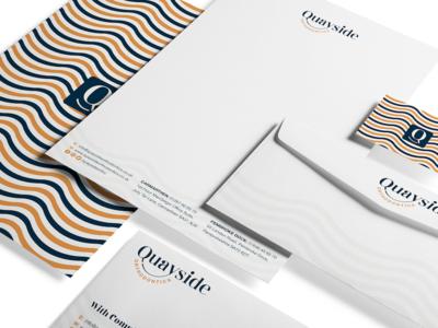 Stationery Design - Quayside Orthodontics