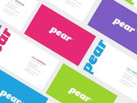 Pear Branding