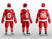 Grand Rapids Griffins 80's Throwback Concept