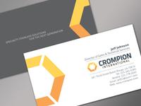 Crompion Card