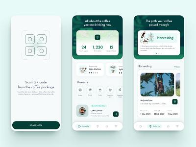 Coffee App  - Supply Chain supplyanddesign supplychain coffee icon coffee app coffee mobile app design app