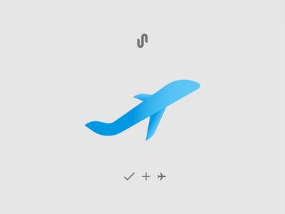 Logo Concept Plane