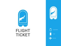 Flight Ticket Logo