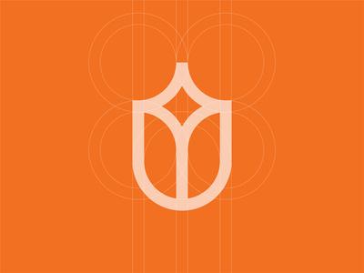 Tulip Star Logo Construction