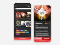 User Interface Movies App
