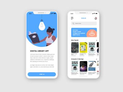 Digital Library App