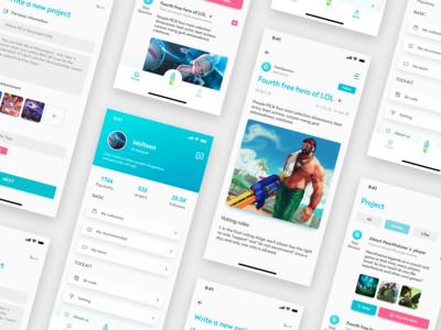 An app about questionnaire survey