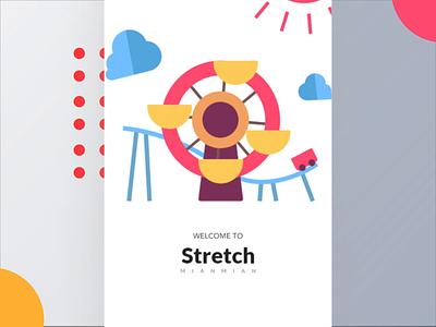 Park navigation app Vol.3 ae design illustration ui