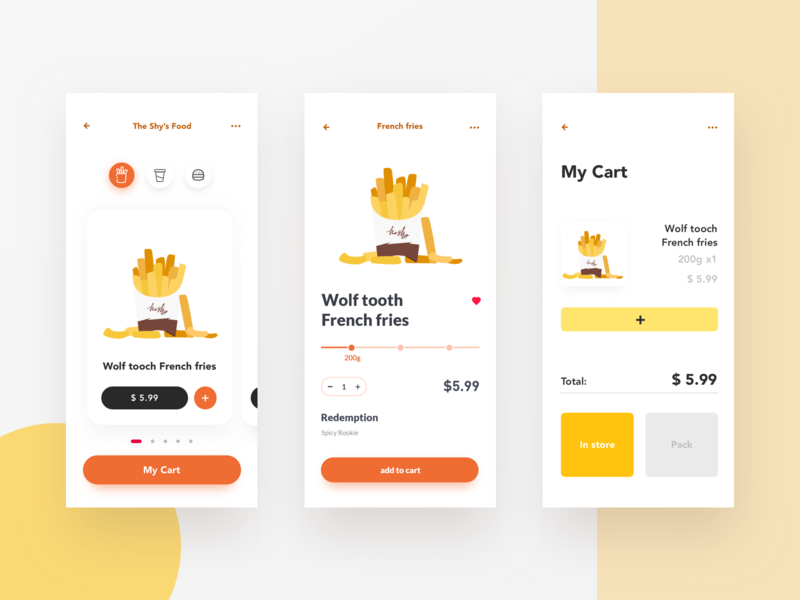 Park navigation app Vol.4 ux design illustration ui