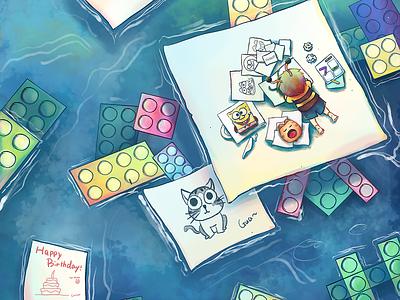 Minebox vol.4 ux illustration